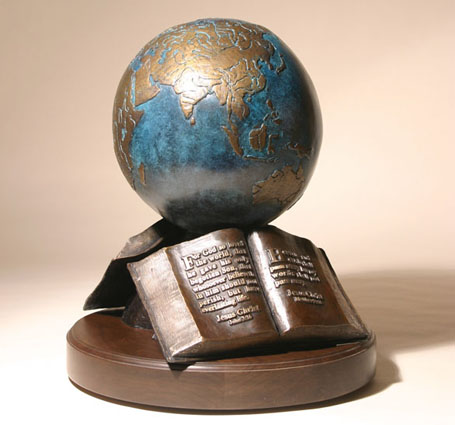 """The Great Commission""® 9"" Bronze Sculpture"